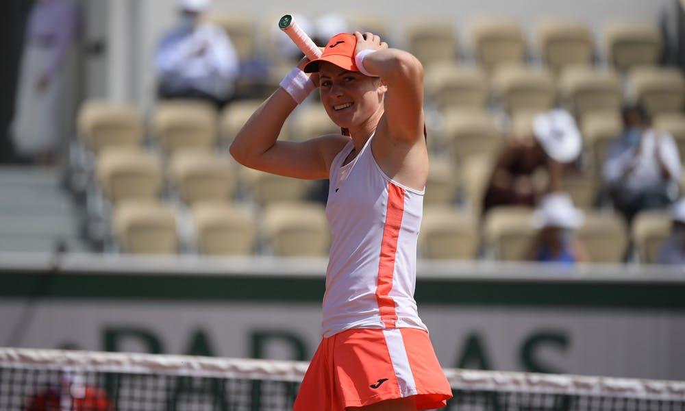 Tamara Zidansek, Roland Garros 2021, fourth round