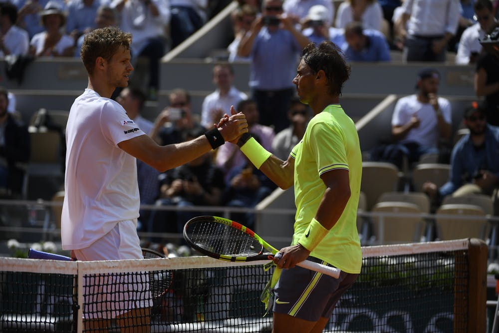Rafael Nadal - Yannick Hanfmann - Roland-Garros 2019