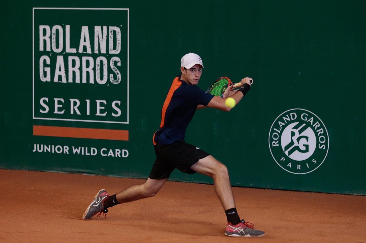 Gustavo Heide winner of the Brazilian Roland-Garros Junior Wild Card Series 2019