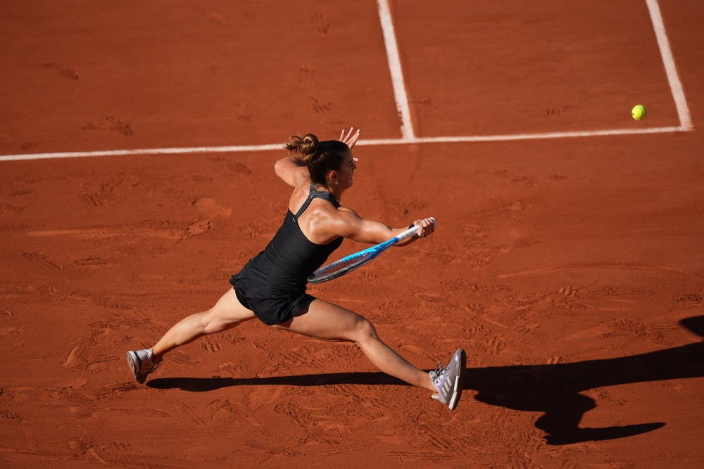 Maria Sakkari, Roland-Garros 2021, women's singles, semi-finals