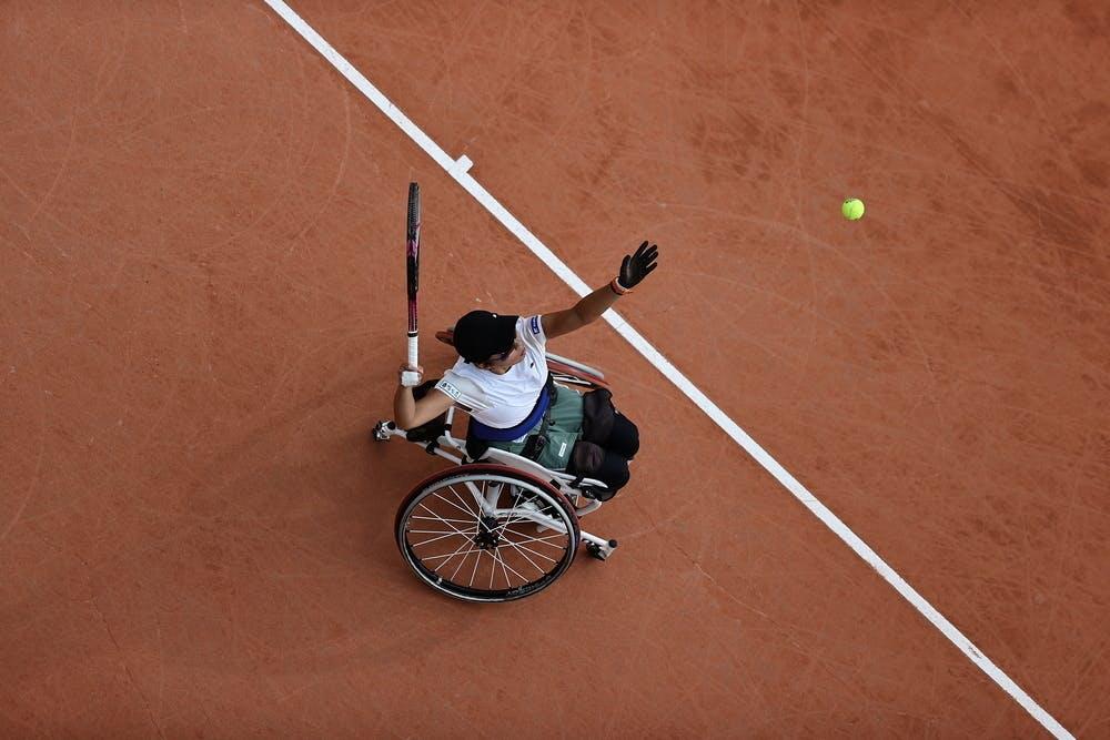 Momoko Ohtani, Roland Garros 2020, women's wheelchair semi-finals
