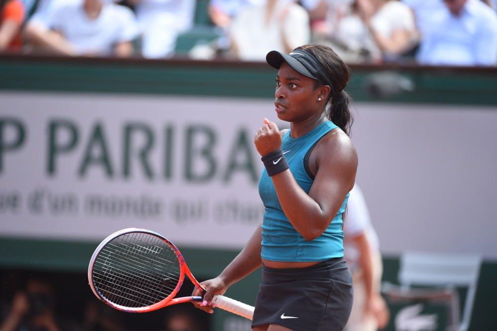 Sloane Stephens Roland-Garros 2018