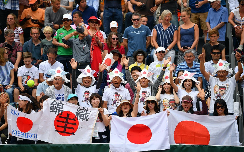 Spectateurs japonais