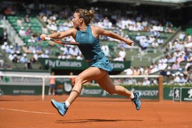 Simona Halep Julien Crosnier Roland-Garros 2018