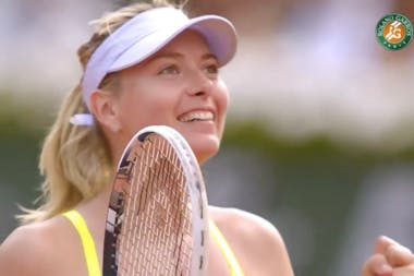2013 : Maria Sharapova et Victoria Azarenka s'affrontent en demi-finale