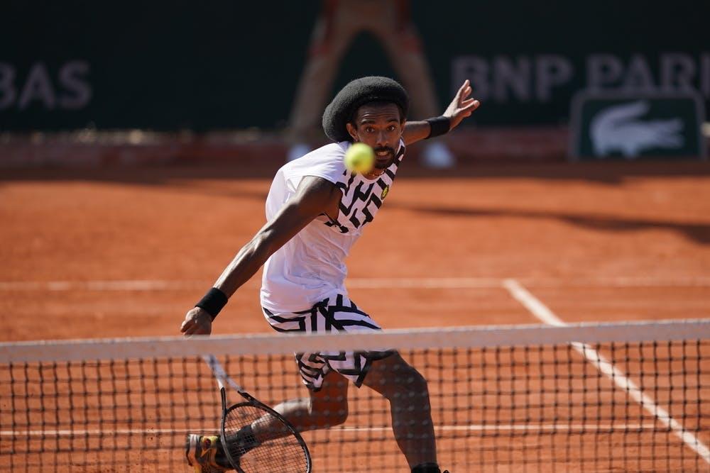Dustin Brown, Roland Garros 2020, qualifying first round.