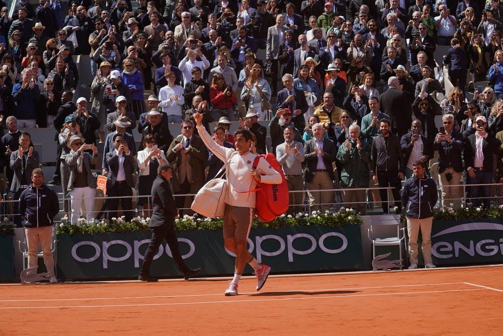 Roger Federer Roland-Garros 2019