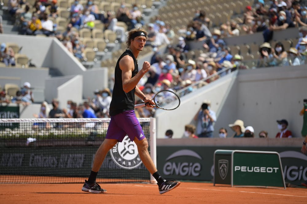 Alexander Zverev, Second Round, Roland Garros 2021