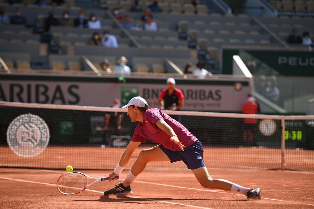 Dominic Thiem, Pablo Andujar, Roland Garros 2021, first round