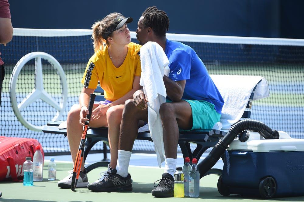 Elina Svitolina, Gael Monfils, US Open 2019