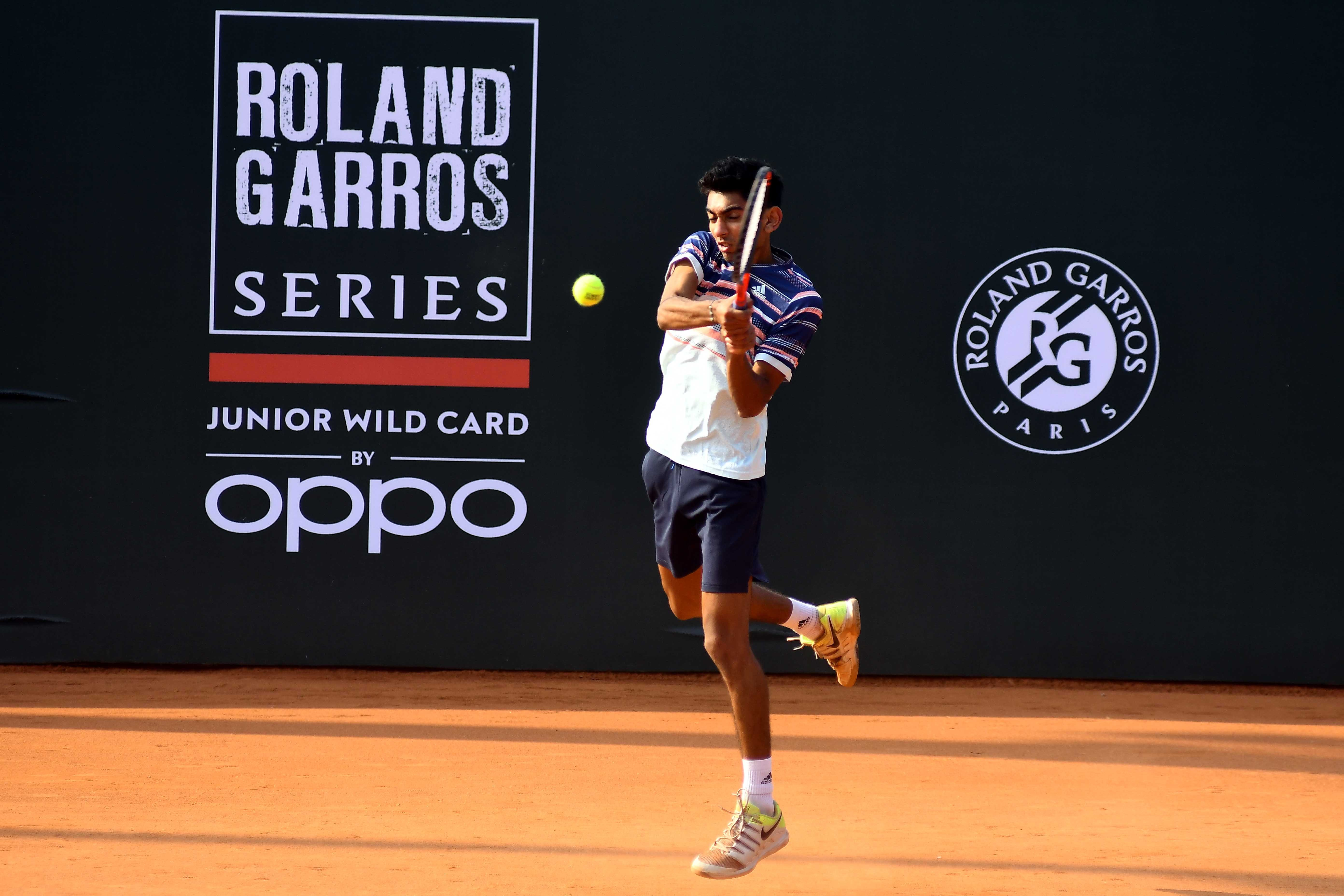 Dev V Javia Roland-Garros wild card series by OPPO