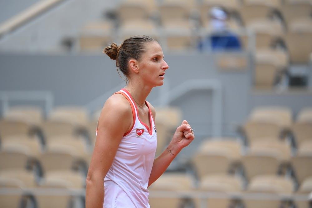 Karolina Pliskova, Roland Garros 2020, first round