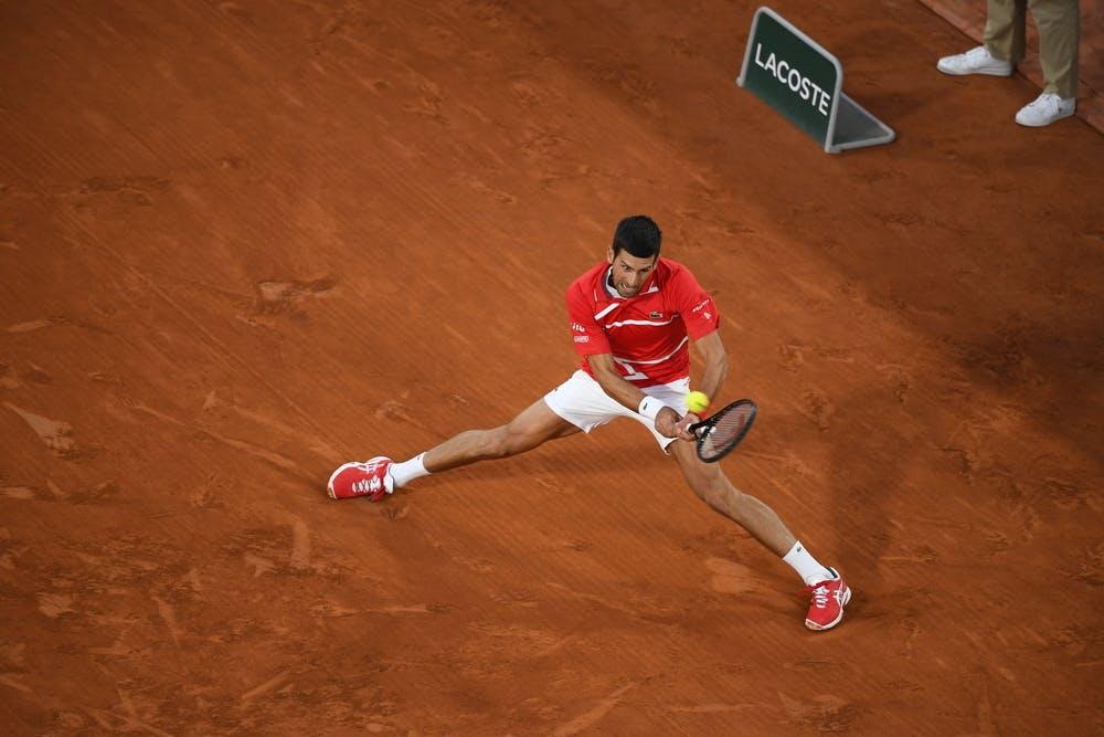 Novak Djokovic, Roland Garros 2020, semi-final