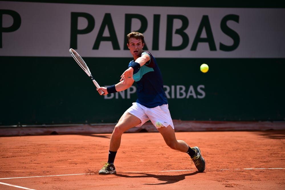 Pierre-Yves Bailly, Roland-Garros 2021, boys singles first round