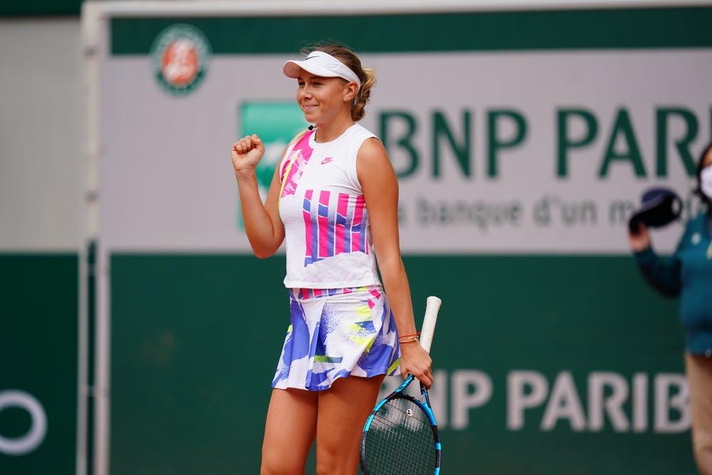 Amanda Anisimova, Roland-Garros 2020