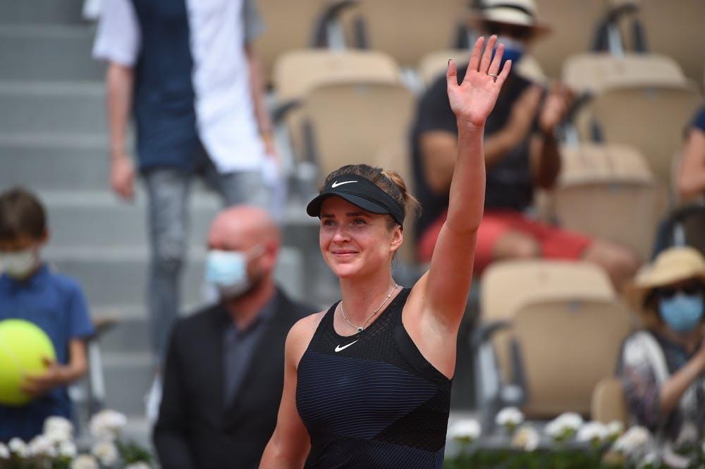 Elina Svitolina, Roland Garros 2021, second round