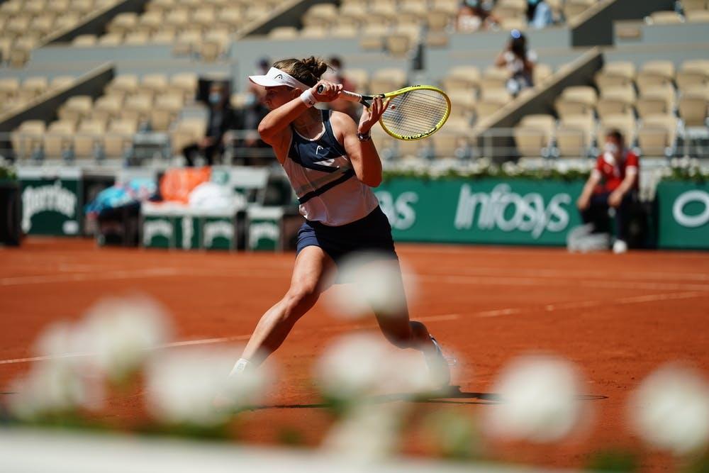 Barbora Krejcikova, Roland-Garros 2021, women's singles, 1/4 F
