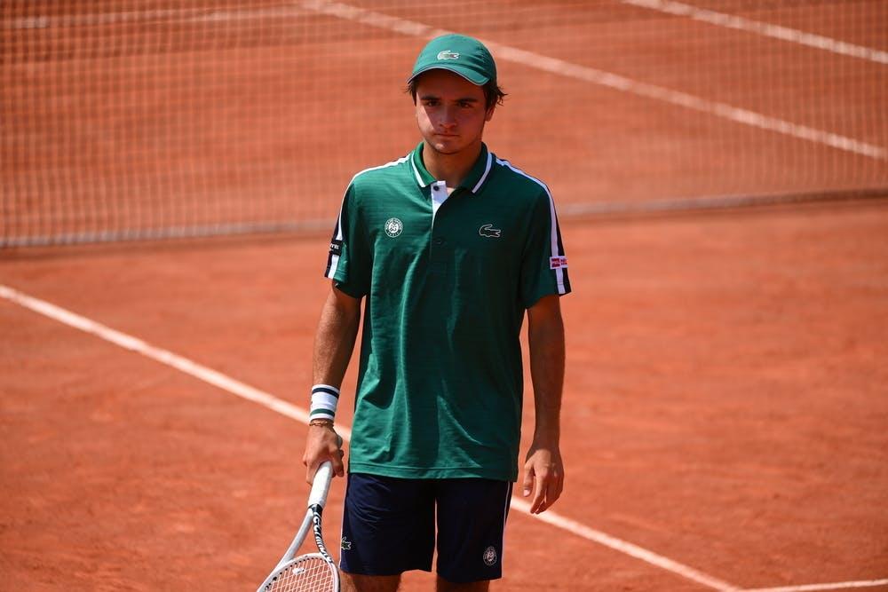 Loan Lestir, Roland-Garros, boys doubles first round