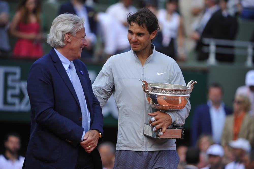 Björn Borg et Rafael Nadal
