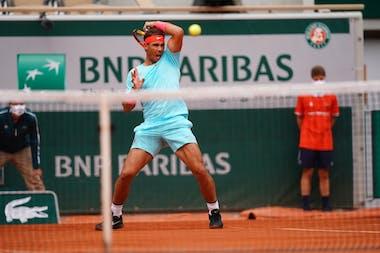 Rafael Nadal, Roland Garros 2020, second round