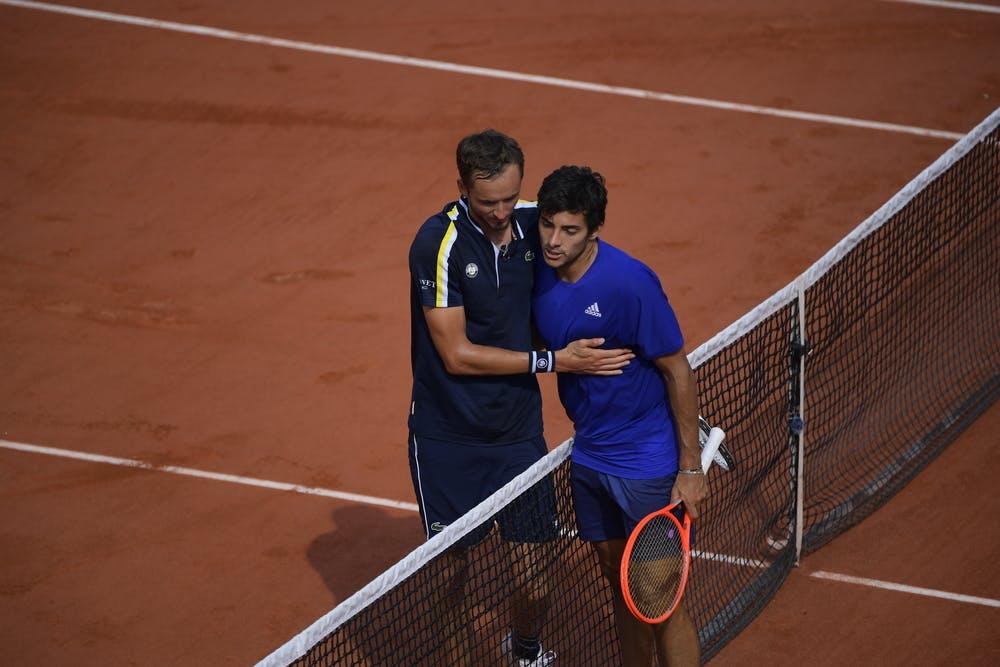 Medvedev VS Garin - Huitième de finale Roland-Garros 2021