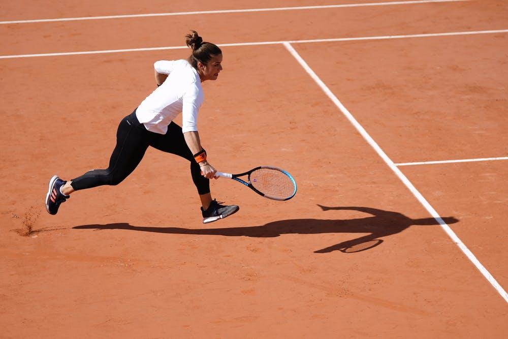 Maria Sakkari, Roland-Garros 2020, entraînement