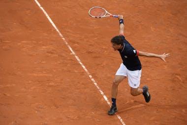 Dominic Thiem, Roland-Garros 2018, 1er tour