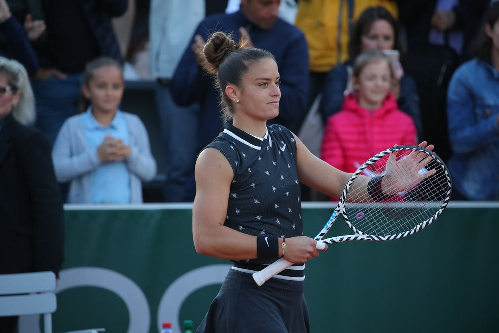 Maria Sakkari Roland Garros 2019 first round