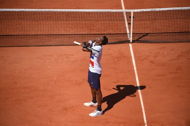 Gael Monfils, Roland Garros 2021, first round