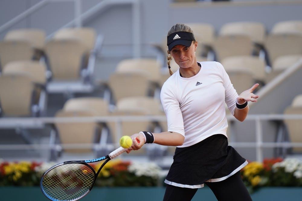 Kristina Mladenovic, Roland-Garros 2020, Finale