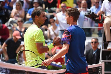 Rafael Nadal and Yannick Maden