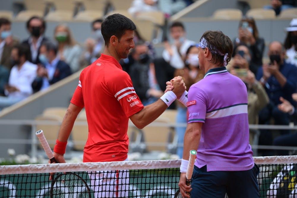 Novak Djokovic, Ricardas Berankis, Roland-Garros 2021, third round