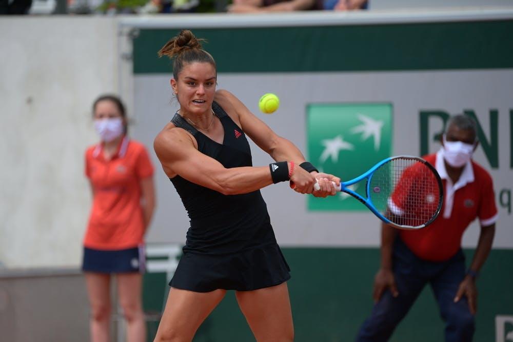 Maria Sakkari, Roland-Garros 2021 second round