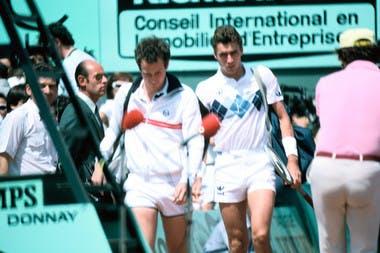 Lendl fait craquer McEnroe et remporte Roland-Garros en 1984