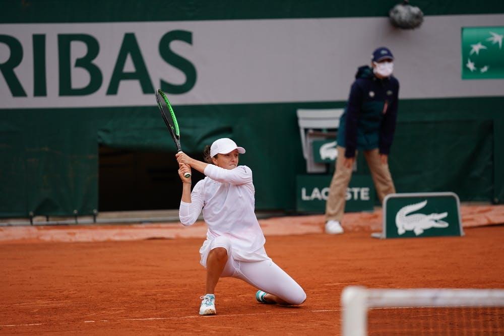 Iga Swiatek, Roland Garros 2020, third round