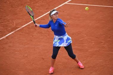 Elina Svitolina, Roland-Garros 2020, 3e tour