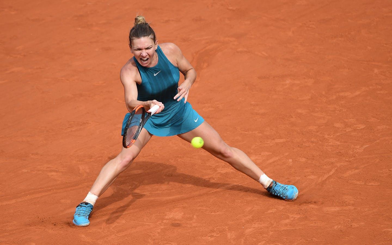 Simona Halep, Roland-Garros 2018.