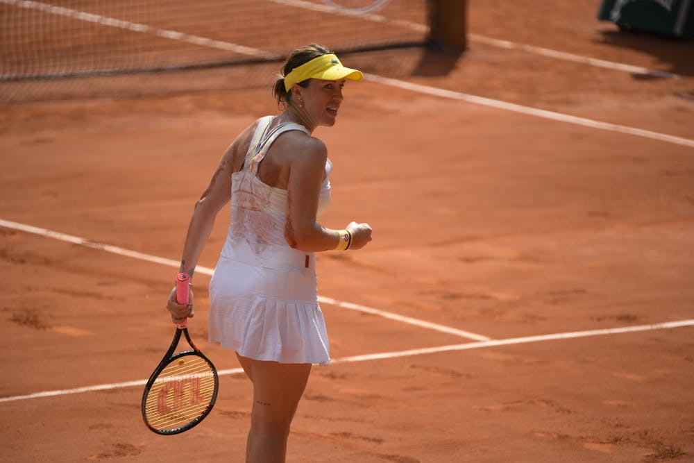 Anastasia Pavlyuchenkova, Roland-Garros 2021, quarter-finals