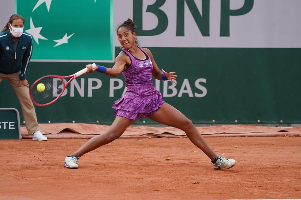 Daniela Seguel, Roland-Garros 2020, qualifying first round.