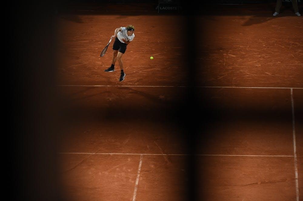 Alexander Zverev, Roland Garros 2020, third round