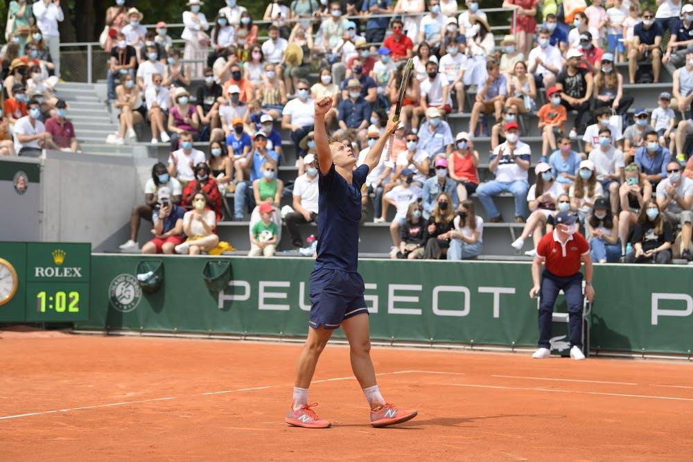 Luca Van Assche, Roland-Garros 2021, Simple Garcons finale