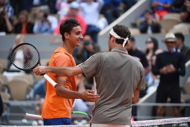 Roger Federer Lorenzo Sonego