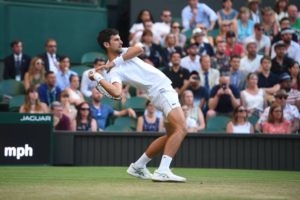 Novak Djokovic flexible Wimbledon 2018
