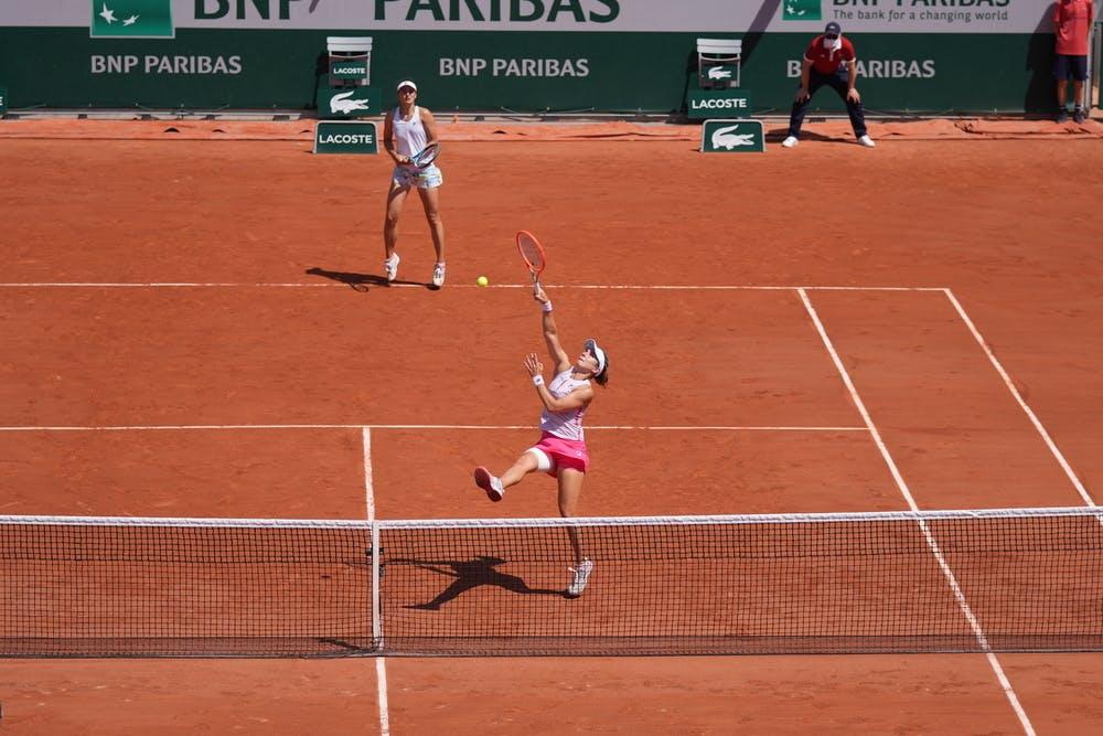 Irina-Camelia Begu, Nadia Podoroska, Roland-Garros 2021, quarter-final