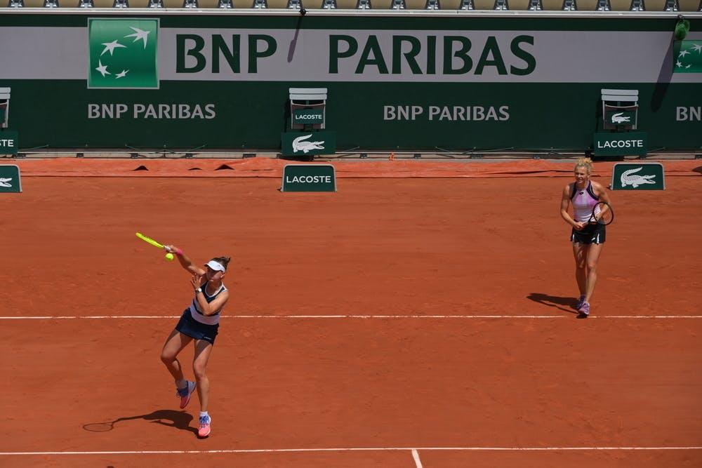 Barabora Krejcikova, Katerina Siniakova, Roland-Garros, womens doubles, quarter final