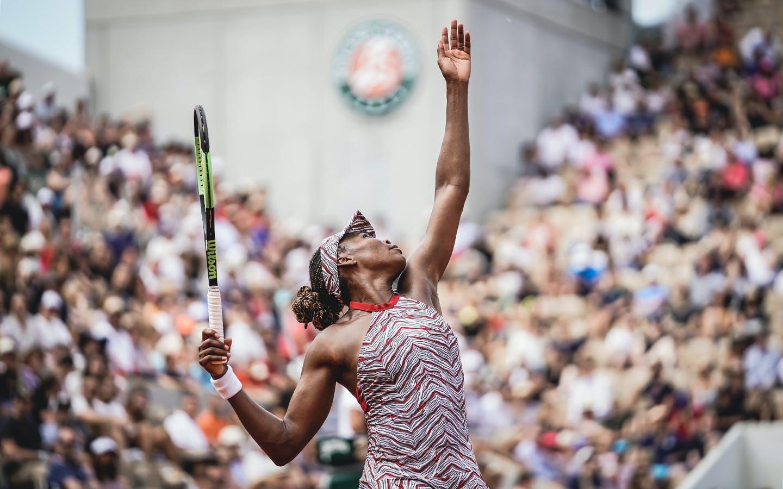 Venus Williams, Roland Garros 2018, Simple Dames, Premier Tour