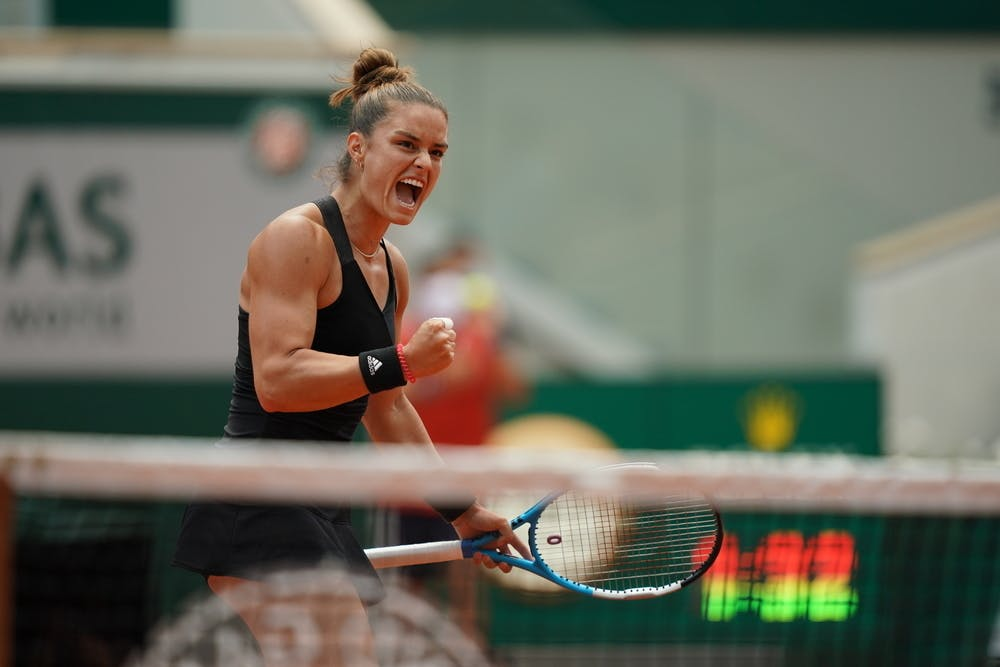 Maria Sakkari, Roland-Garros 2021 quarter-finals
