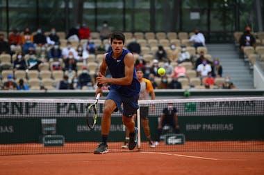 Carlos Alcaraz, Roland Garros 2021, third round