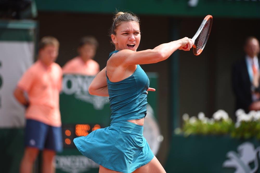 Simona Halep huitième de finale 1/8 Rolans-Garros 2018