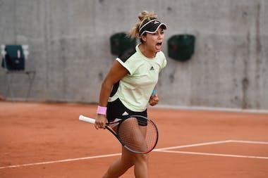 Renata Zarazua, Roland Garros 2020, qualifying final round